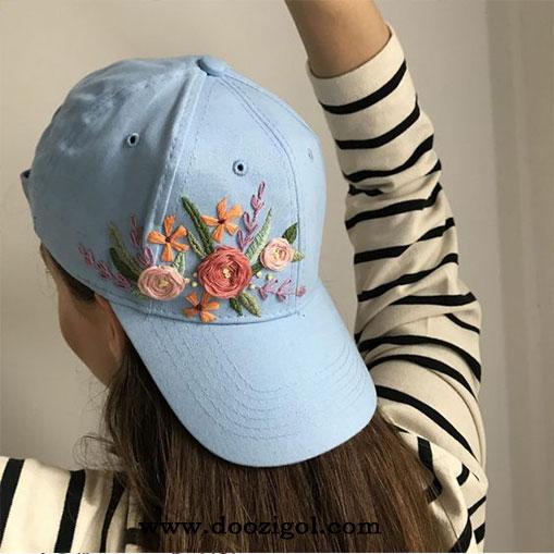 گلدزوی روی کلاه