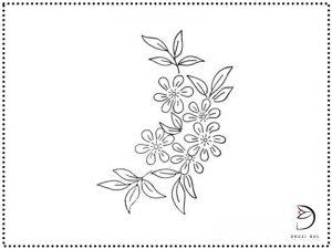طرح گلدوزی رومیزی